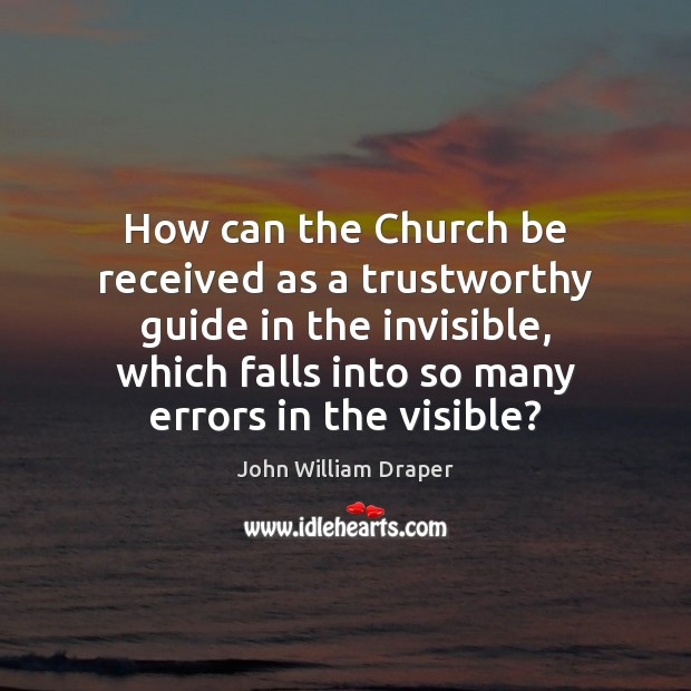 How can the Church be received as a trustworthy guide in the Image