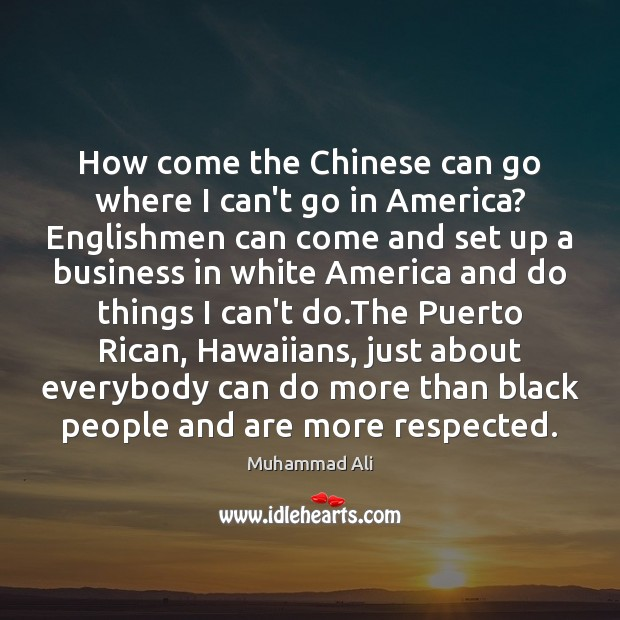 Image, How come the Chinese can go where I can't go in America?