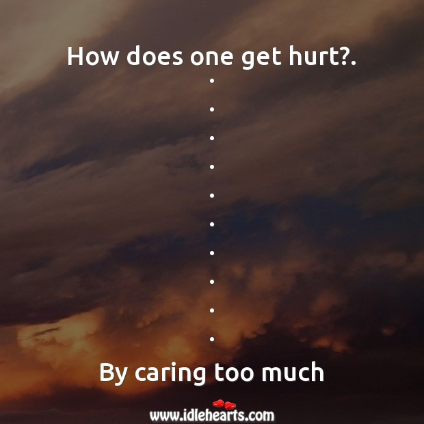 How does one get hurt? Image