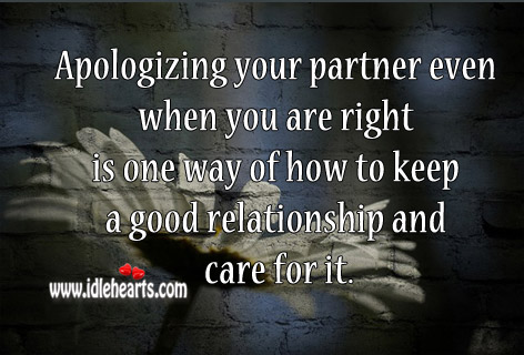 how to maintain good relationship with your partner