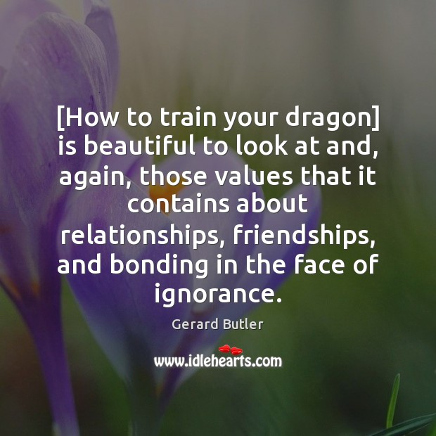 [How to train your dragon] is beautiful to look at and, again, Image