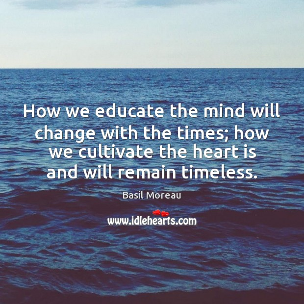 Image, How we educate the mind will change with the times; how we