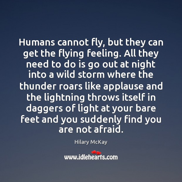 Image, Humans cannot fly, but they can get the flying feeling. All they