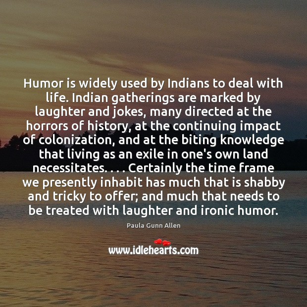 Humor is widely used by Indians to deal with life. Indian gatherings Image
