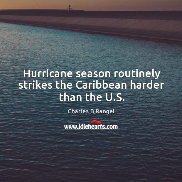 Hurricane season routinely strikes the caribbean harder than the u.s. Image
