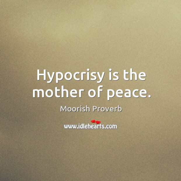 Moorish Proverbs