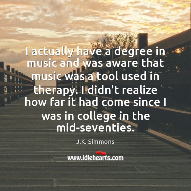 Image, I actually have a degree in music and was aware that music