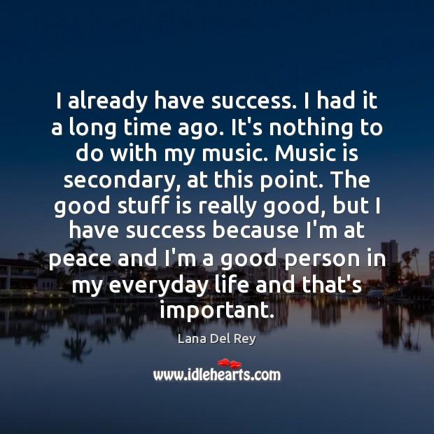 Image, I already have success. I had it a long time ago. It's