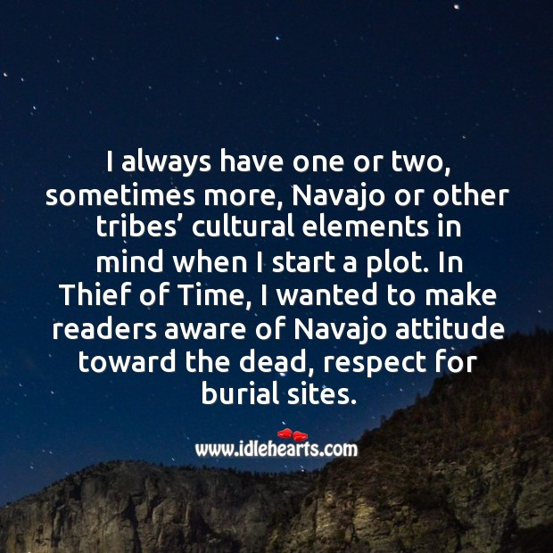 I always have one or two, sometimes more, navajo or other tribes' Image