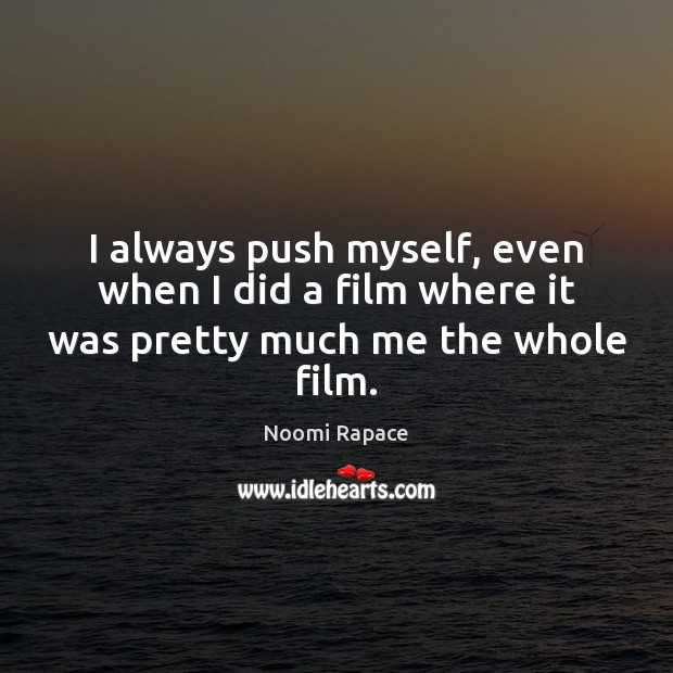 Picture Quote by Noomi Rapace