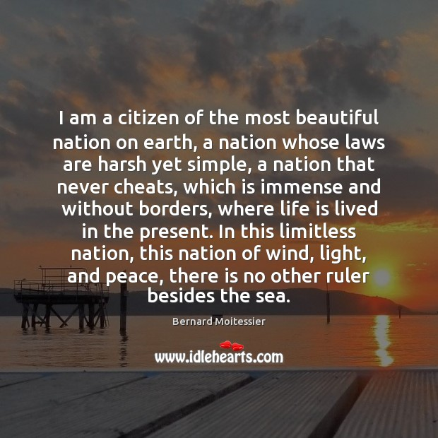 Image, I am a citizen of the most beautiful nation on earth, a