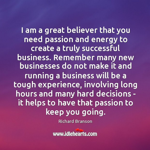 Picture Quote by Richard Branson