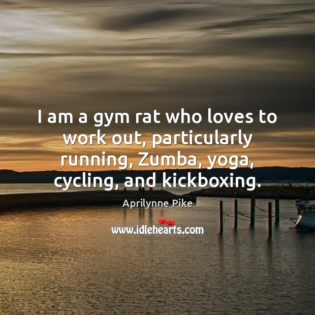 Image, I am a gym rat who loves to work out, particularly running,