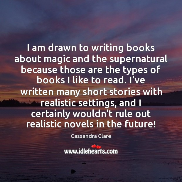 Picture Quote by Cassandra Clare