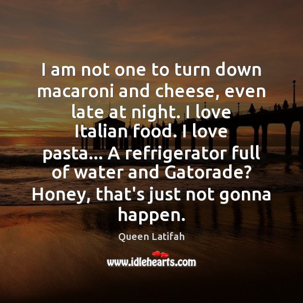 I am not one to turn down macaroni and cheese, even late Image