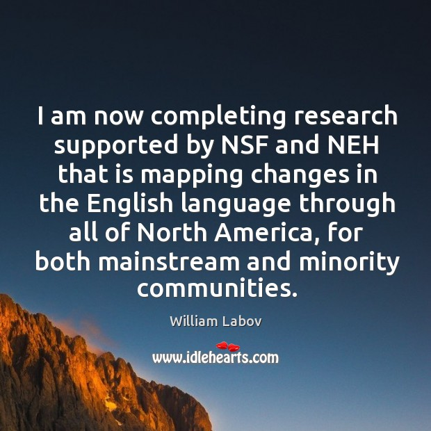 I am now completing research supported by nsf and neh that is mapping changes in the Image