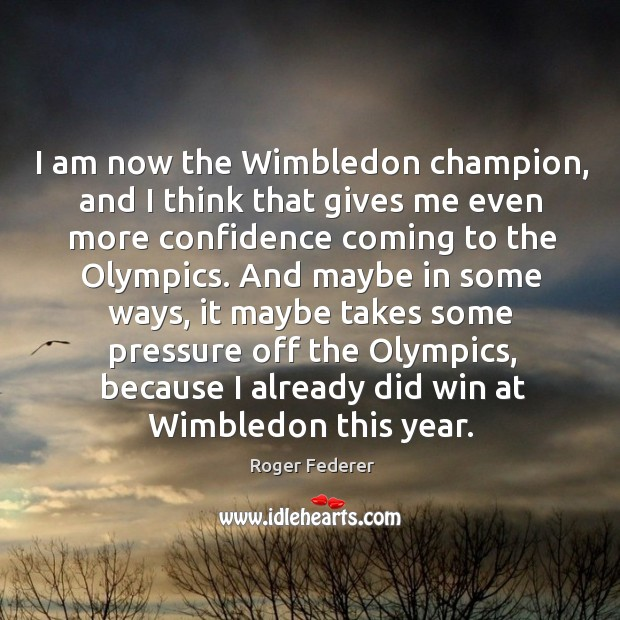 Picture Quote by Roger Federer