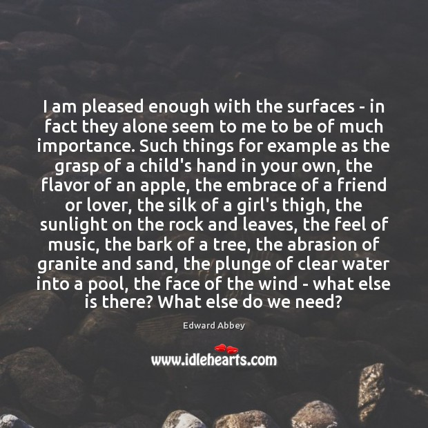 I am pleased enough with the surfaces – in fact they alone Image