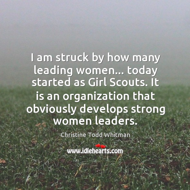 I am struck by how many leading women… today started as Girl Image