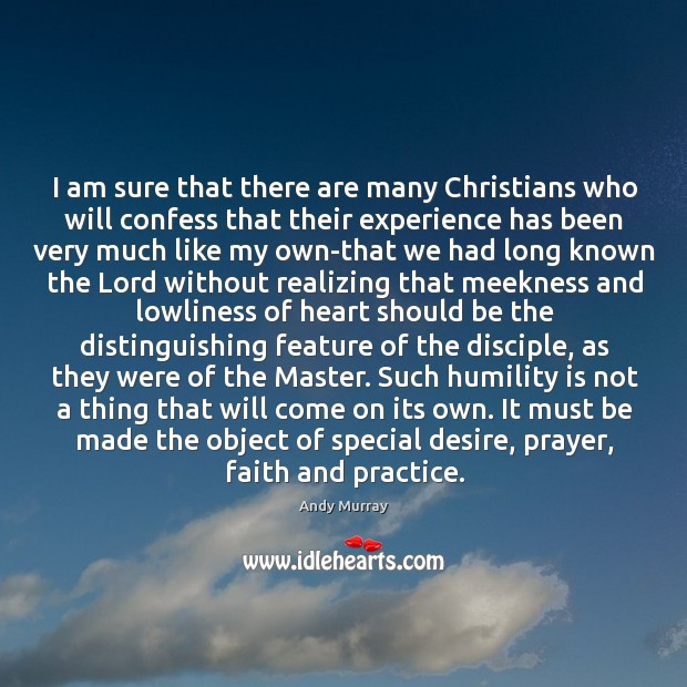 I am sure that there are many Christians who will confess that Image