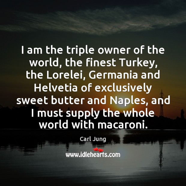 I am the triple owner of the world, the finest Turkey, the Image