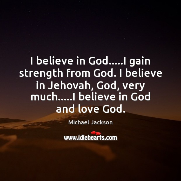 Believe in God Quotes Image