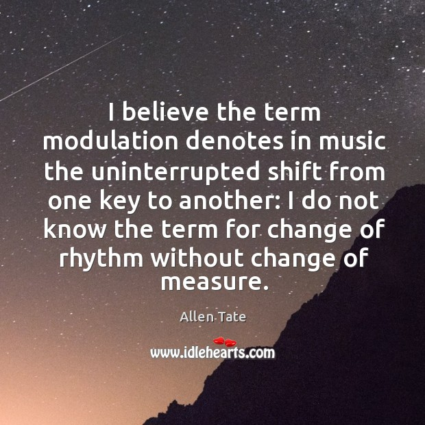 I believe the term modulation denotes in music the uninterrupted shift from one key to another: Image