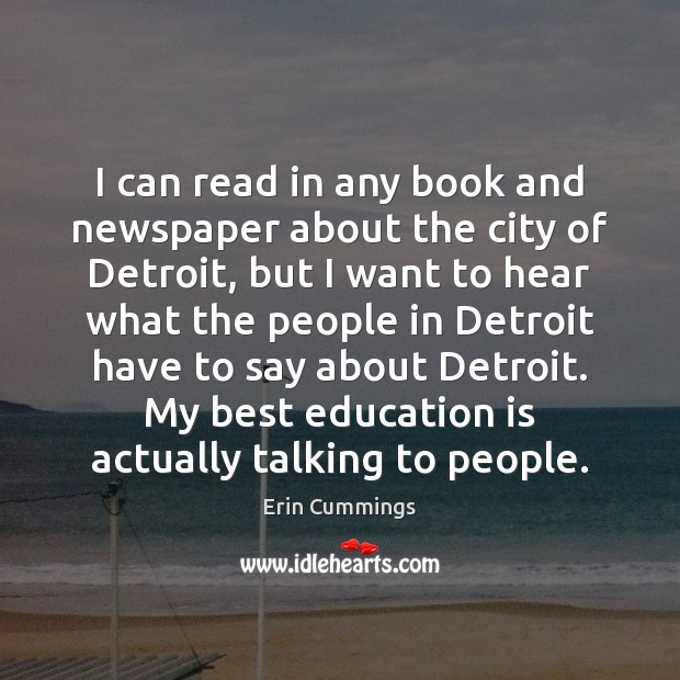 I can read in any book and newspaper about the city of Image
