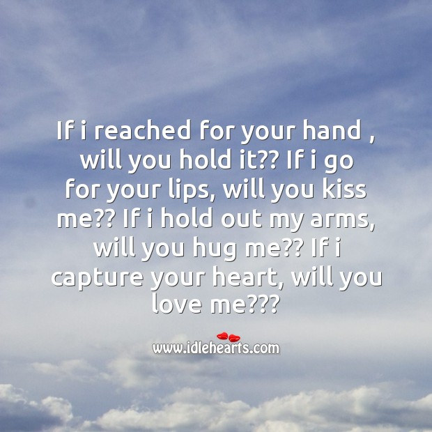 I capture your heart Image