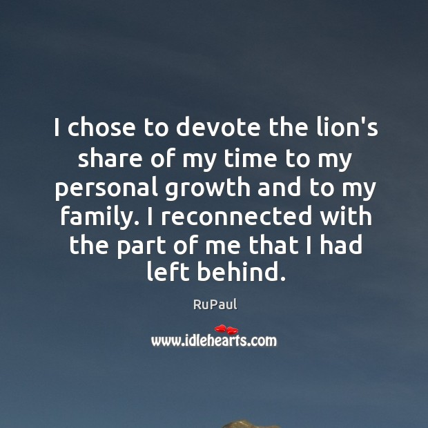 Image, I chose to devote the lion's share of my time to my