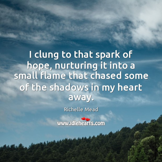Image, I clung to that spark of hope, nurturing it into a small
