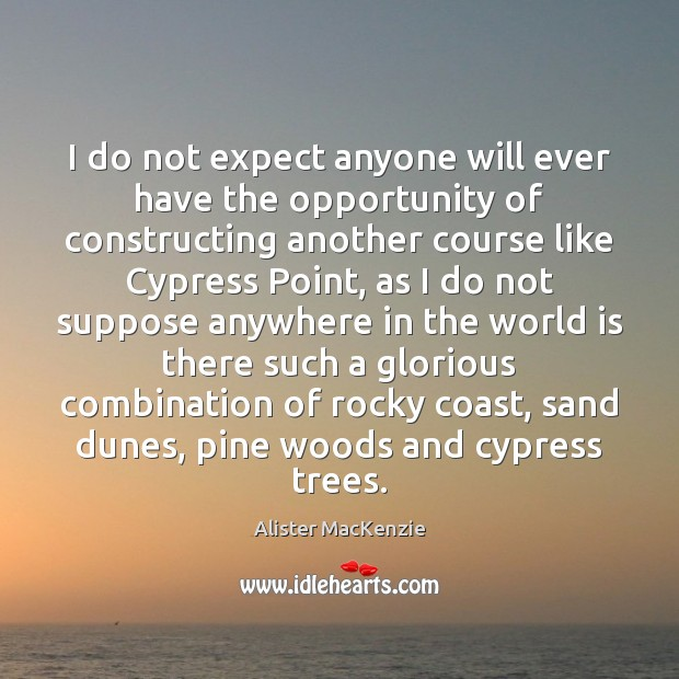 Image, I do not expect anyone will ever have the opportunity of constructing