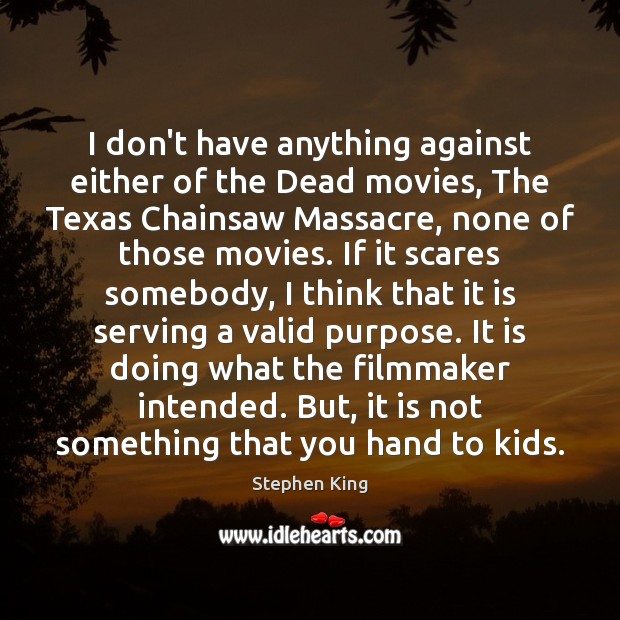Image, I don't have anything against either of the Dead movies, The Texas