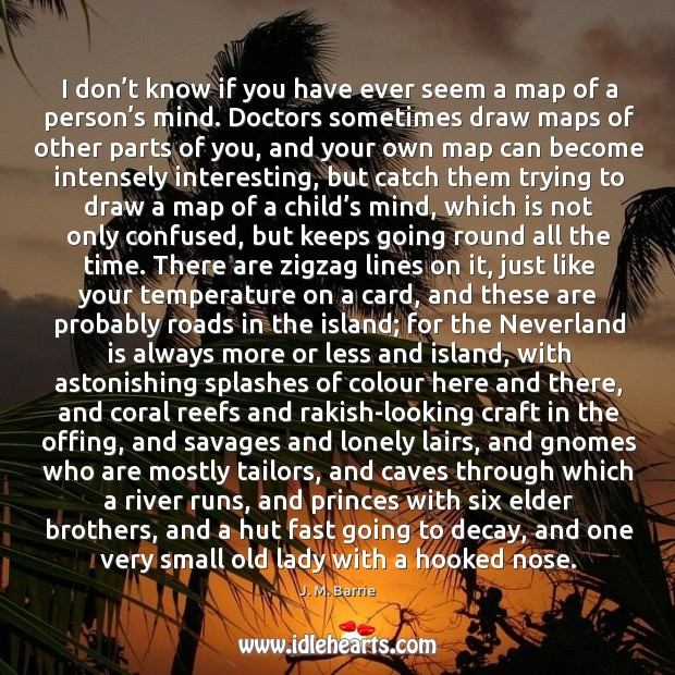 I don't know if you have ever seem a map of a person's mind. Image