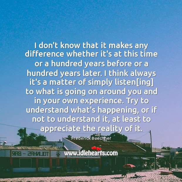 Picture Quote by Frederick Buechner
