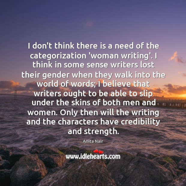 Image, I don't think there is a need of the categorization 'woman writing'.