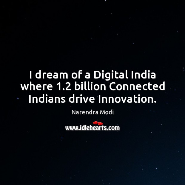 Picture Quote by Narendra Modi