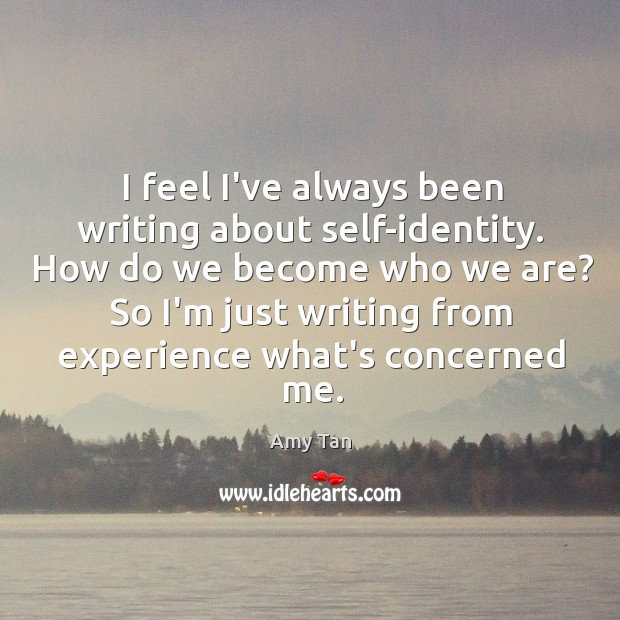 identity essays about self