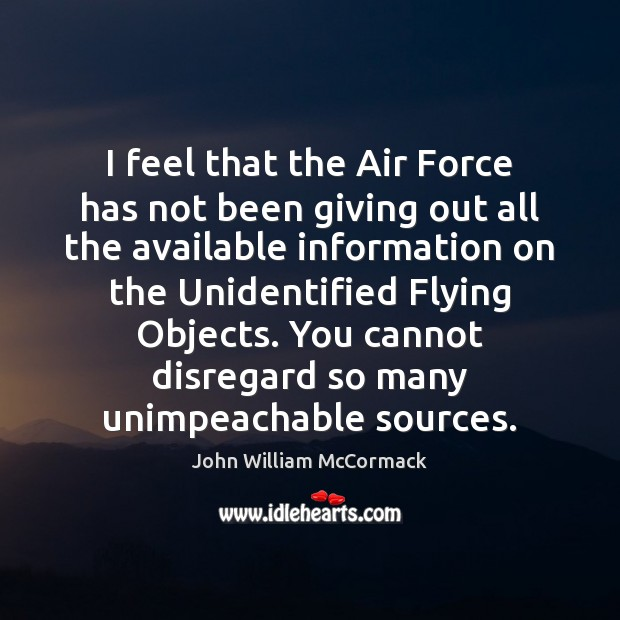 I feel that the Air Force has not been giving out all Image