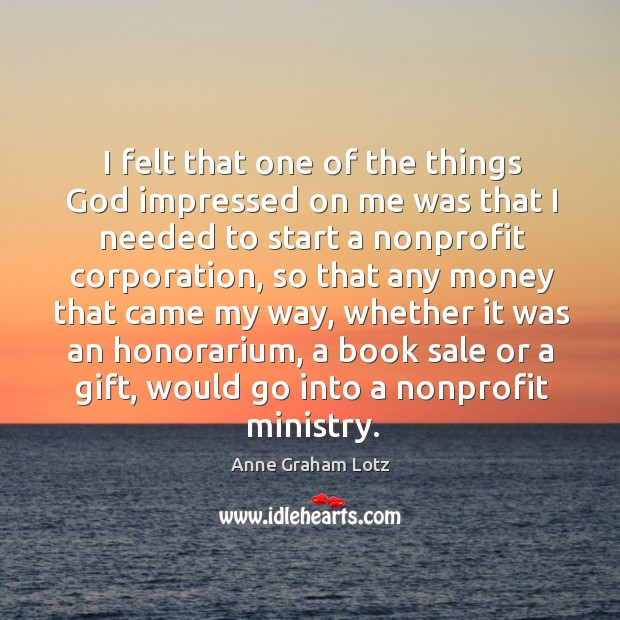 Image, I felt that one of the things God impressed on me was