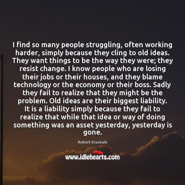 I find so many people struggling, often working harder, simply because they Image