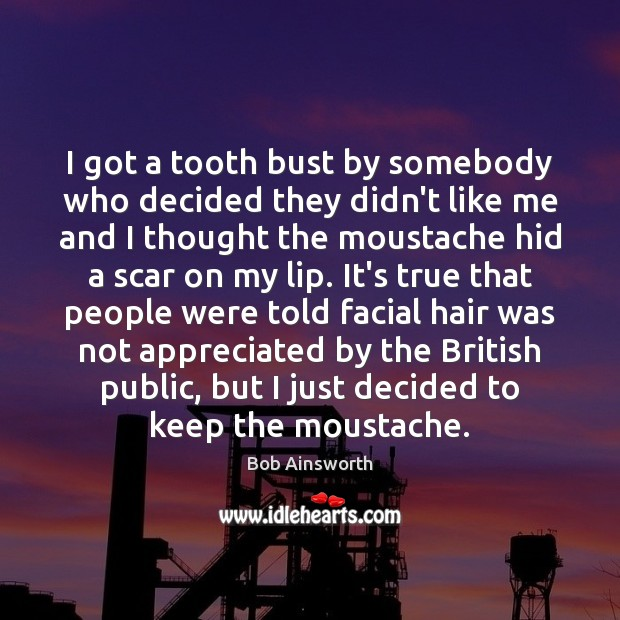 Image, I got a tooth bust by somebody who decided they didn't like