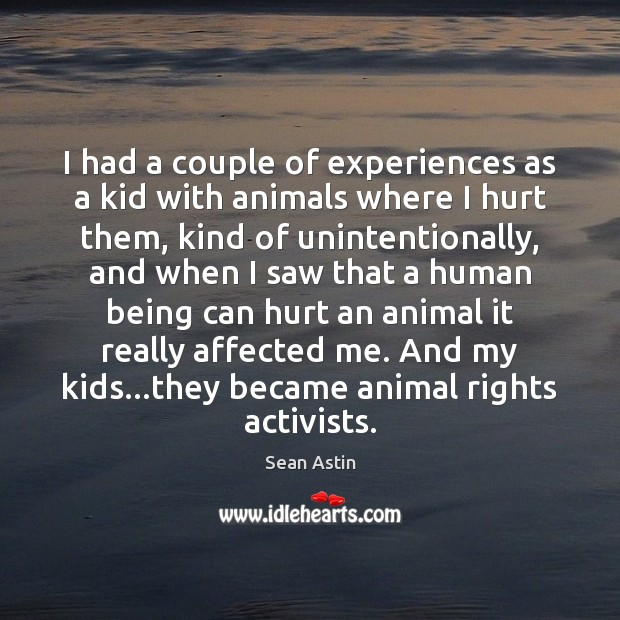 Image, I had a couple of experiences as a kid with animals where