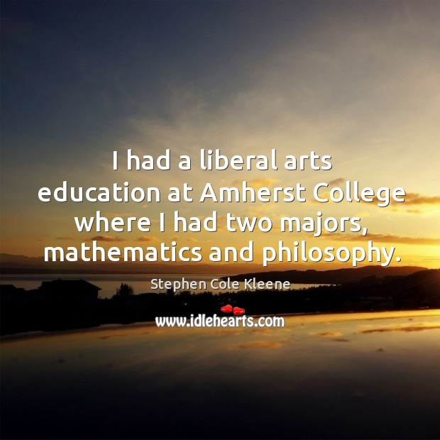 liberal arts not necessay Times of economic stress bring renewed scrutiny of higher education, particularly liberal arts education misconceptions and sound bites gain traction: if bill gates and steve jobs never earned degrees, is college really necessary.