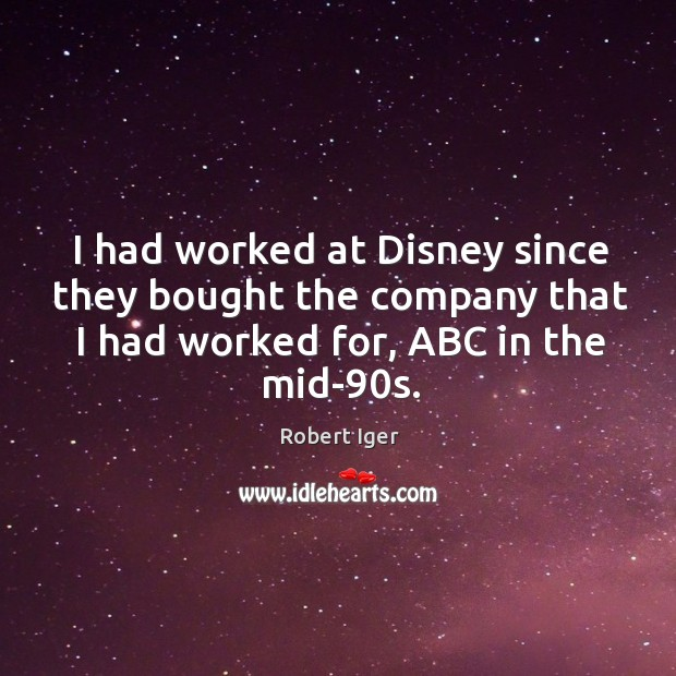 Picture Quote by Robert Iger