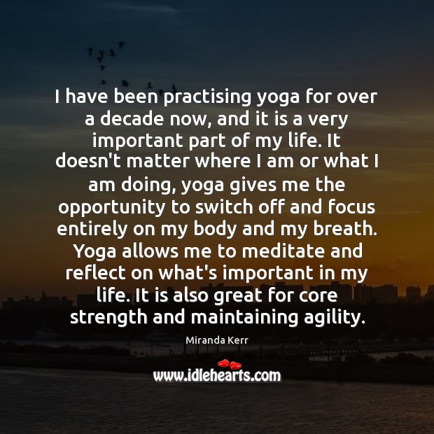 Image, I have been practising yoga for over a decade now, and it