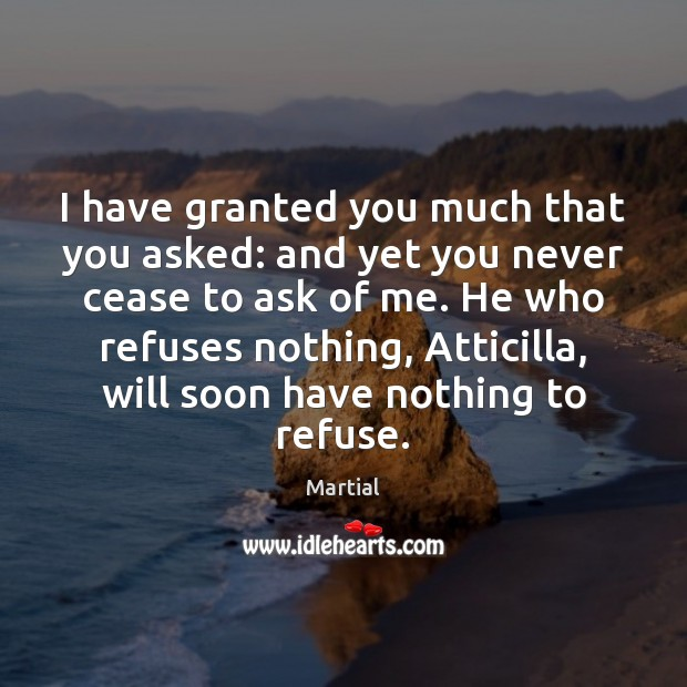 Picture Quote by Martial