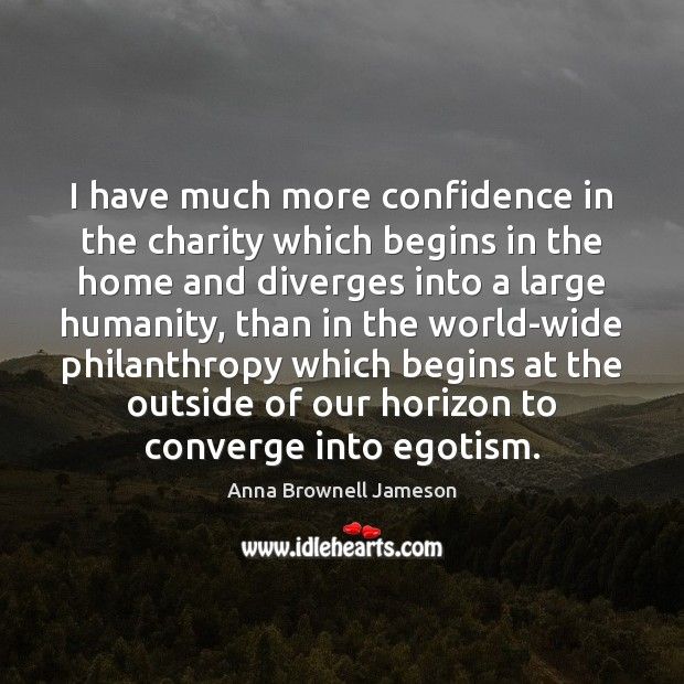 Image, I have much more confidence in the charity which begins in the