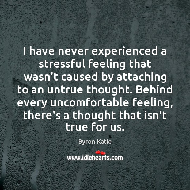 Image, I have never experienced a stressful feeling that wasn't caused by attaching