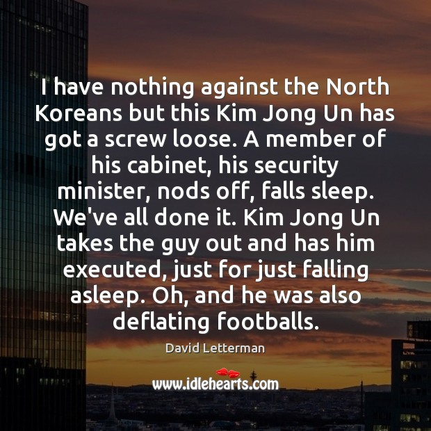 I have nothing against the North Koreans but this Kim Jong Un Image
